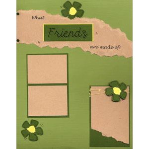 E-Cut Completes (Download and Print) What Friends are Made of! I
