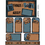 E-Cuts (Download and Print) 10 Things I Love - Blue 1