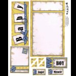 E-Cuts (Download and Print) It's A Boy 1