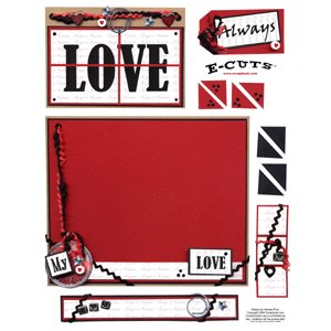 E-Cuts (Download and Print) Love Always and Forever II