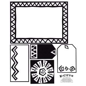 E-Cuts (Download and Print) Aztec Sun