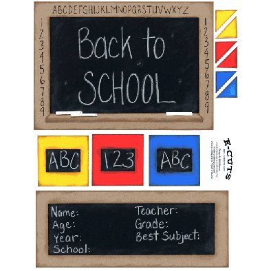 E-Cuts (Download and Print) Back To School