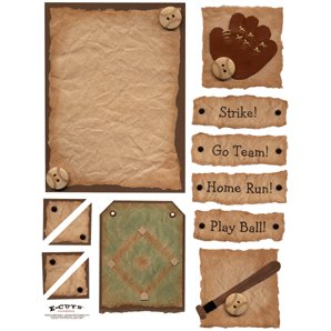 E-Cuts (Download and Print) Play Baseball