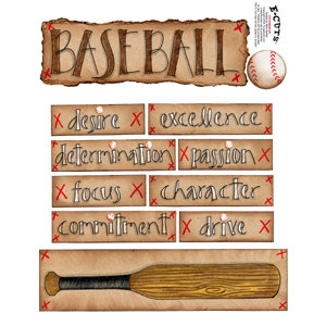 E-Cuts (Download and Print) Baseball is a Hit II