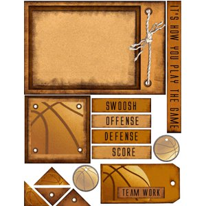E-Cuts (Download and Print) Basketball - The Game