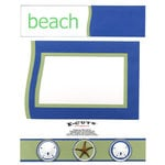 E-Cuts (Download and Print) Beach Play I