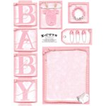 E-Cuts (Download and Print) Baby Girl 1