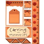 E-Cuts (Download and Print) Carving out Memories