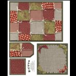 E-Cuts (Download and Print) Christmas Patchwork 1