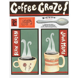 E-Cuts (Download and Print) Coffee Craze I