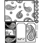 E-Cuts (Download and Print) Doodlebug B&W