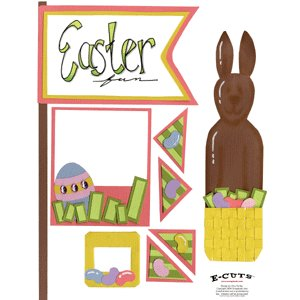 E-Cuts (Download and Print) Easter Sweets I