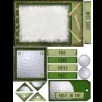 E-Cuts (Download and Print) Golf - The Game