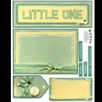 E-Cuts (Download and Print) Little One 1
