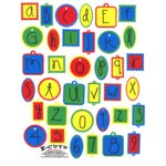 E-Cuts Alphabets (Download and Print) Primary ABC