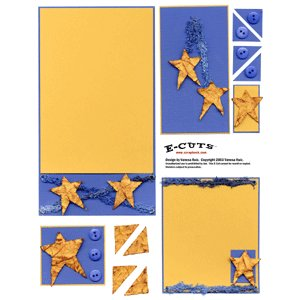 E-Cuts (Download and Print) Rustic Star