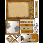 E-Cuts (Download and Print) Soccer - The Game