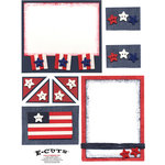 E-Cuts (Download and Print) Stars & Stripes