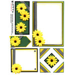 E-Cuts (Download and Print) Sunflower Fun