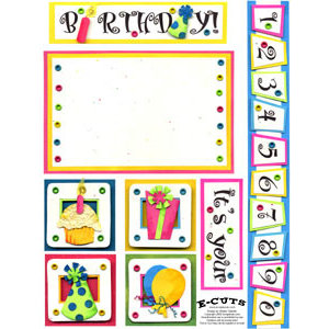 E-Cuts (Download and Print) Its Your Birthday 1