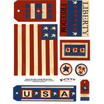 E-Cuts (Download and Print) USA Hooray II