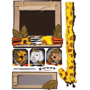 E-Cuts (Download and Print) Zoo Clues