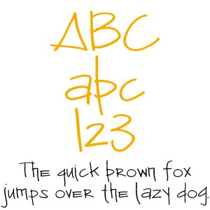Fonts (Download) SBC Anasazi