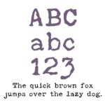 Fonts (Download) SBC Distressed Typewriter