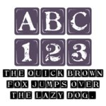 Fonts (Download) SBC Tablets