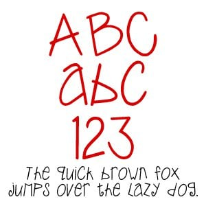 Fonts (Download) SBC Whimsy Joggle