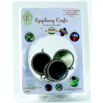 Epiphany Crafts - Jewelry - Metal Charms - Round 25