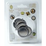 Epiphany Crafts - Shape Studio - Rhinestone Charm Settings - Round 25