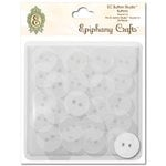 Epiphany Crafts - Button Studio - Self Adhesive Buttons - Round 14