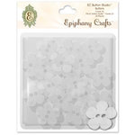 Epiphany Crafts - Button Studio - Self Adhesive Buttons - Flower 20