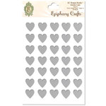 Epiphany Crafts - Shape Studio - Bubble Caps - Clear - Heart 14