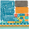 Echo Park - All About a Boy - 12 x 12 Cardstock Stickers - Alphabet