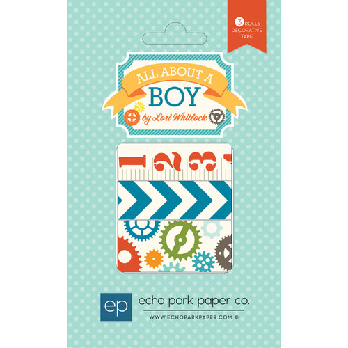 Echo Park - All About a Boy - Washi Tape