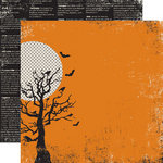 Echo Park - Apothecary Emporium Collection - Halloween - 12 x 12 Double Sided Paper - Full Moon