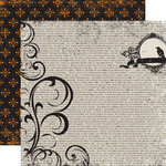 Echo Park - Apothecary Emporium Collection - Halloween - 12 x 12 Double Sided Paper - Under Your Spell