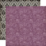 Echo Park - Arsenic and Lace Collection - 12 x 12 Double Sided Paper - Floral