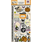 Echo Park - Arsenic and Lace Collection - Chipboard Stickers