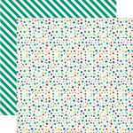 Echo Park - Birthday Collection - Boy - 12 x 12 Double Sided Paper - Birthday Dots