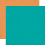 Echo Park - Birthday Collection - Boy - 12 x 12 Double Sided Paper - Teal