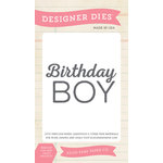 Echo Park - Birthday Collection - Boy - Designer Dies - Birthday Boy