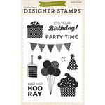 Echo Park - Birthday Collection - Boy - Designer Stamps - Party