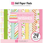 Echo Park - Birthday Collection - Girl - 6 x 6 Paper Pad