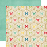 Echo Park - Beautiful Life Collection - 12 x 12 Double Sided Paper - Doilies