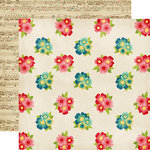 Echo Park - Beautiful Life Collection - 12 x 12 Double Sided Paper - Bouquets