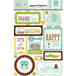 Echo Park - Bundle of Joy Collection - Boy - Layered Chipboard Stickers