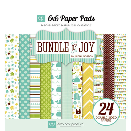Echo Park - Bundle of Joy Collection - Boy - 6 x 6 Paper Pad